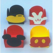 25 Forminhas Tema Mickey Festa Decoração Recortes Apliques