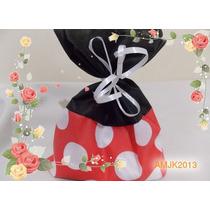 Sacolinha Surpresa Tnt Minnie E Mickey - 15 X 20