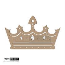 Coroa De Príncipe Mdf 60 Cm Chá De Bebe Menino Aniverário