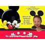 30 Convites Infantis Personalizados Com Foto Por R$ 16,99