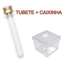 30 Tubete Tampa De Alumínio + 30 Caixinha Acrílica 4x4 Incol