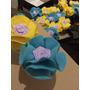 10 Potinho De Papinha Decorado/lembrancinha/flor