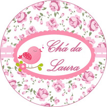100 Adesivos Personalizados Para Latinhas De 5 Cm Todos Tema