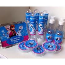 Lindo Kit Festa Personalizado 120 Unidades Frozen + Brinde