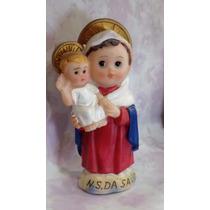 Imagem Infantil - Nossa Senhora Da Saúde - Resina - 8cm