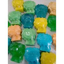 50 Mini Leõezinhos - Sabonete Artesanal - Lembrancinha