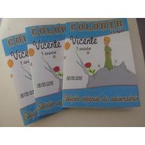 30 Revistinha Colorir Personalizada Pequeno Príncipe