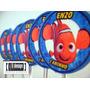 30 Tags Totens Toppers Procurando Nemo Personalizados Festa