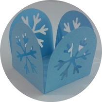 Forminhas Para Doces Frozen + Brinde (100 Flocos De Neve)