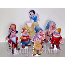 Kit Display De Mesa ** Branca De Neve E Os 7 Anões**