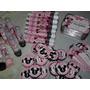 Kit Personalizado 150 Unidades Minnie Vermelha / Minnie Rosa