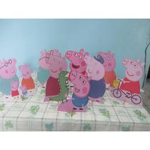 Max Steel E Peppa Pig Display De Mesa ,festa Infantil,mdf