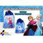 20 Sacolinhas Personalizadas Frozen - Temos Todos Os Temas