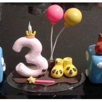 Vela Peppa Pig, Topo De Bolo Biscuit Infantil, Aniversario