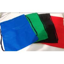 10 Mochilinhas Sacolas Bolsas De Tnt - 35 X 45 - Lisa