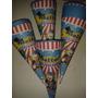 20 Cones Para Guloseimas Tema Circo