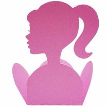 Forminha Para Doces Tema Barbie Princesas 25 Unidades
