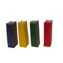 Saquinho Colorido Festas Sacola Embalagem 100 Unidades