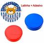 50 Latinha+50 Adesivo Obrigado Pela Presença Urso Marinheiro
