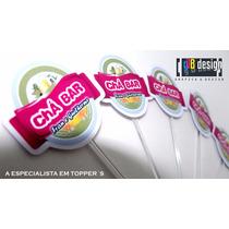 Toppers Cerveja 240pçs Personalizados Chá Bar Frete Gratis