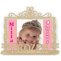 Porta Retrato Frozen - Mdf Cru - Kit Com 20 Peças