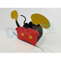 Forminha Para Doce Personalizada - Mickey - 10 Unidades