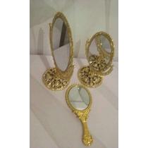 20 Espelhos Dourados Centro De Mesa Branca De Neve Princesa