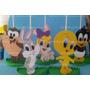 Centro Mesa Lembrancinha Convidados Looney Tunes Baby