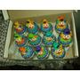 50 Potinhos Palhacinhos Em Biscuit Lembrancinha