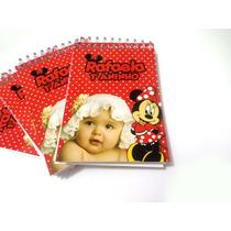 Bloquinhos Personalizados Com Lápis - Minnie Vermelha - 50