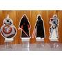 10 Enfeites De Mesa De Aniversário Tema Star Wars