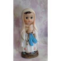 Imagem Infantil - Nossa Senhora Da Lourdes - Resina - 8cm