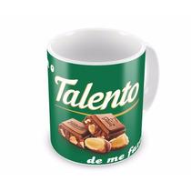 Caneca De Pascoa Talento Personalizada