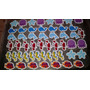 40 Tags Recorte Especial Para Toppers 3 Cm Fundo Do Mar
