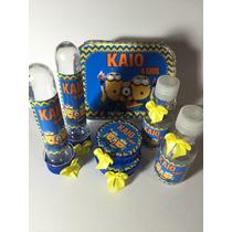 Kit Festa Personalizado Minions - Todos Os Temas !