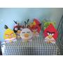 Angry Birds De Mesa ,personal, Festa Infantil,mdf