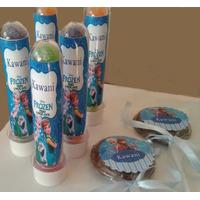 50 Pirulitos De Chocolates 50 Tubetes Personalizados