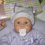 Mini Bebê Polymer Clay Tipo Reborn + Enxoval P/ Maternidade