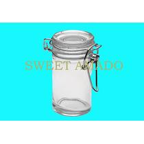 Pote Hermético Com Tampa De Vidro 75ml - Sweet Amado