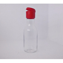 10 Mini Garrafinha De Plastico 50ml Tampa Flip Top - Frasco