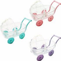 15 Mini Carrinhos De Bebê Acrílico Para Chá De Bebê Barato!