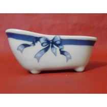 Banheirinha Porcelana Lembranças Menino Chá Bebe Maternidade