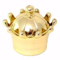 10 Coroa Acrílica Dourada*festa*lembrancinha - Frete Barato