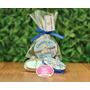 25 Lembrancinha Latinha Personalizada Com Sabonete Bebe Lata