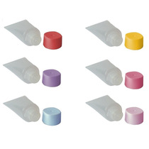 Mini Bisnaga Plástica De 15ml (pacote C/ 50 Unidades)