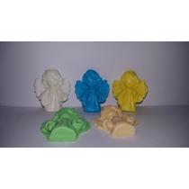 50 Mini Anjinhos Lembrancinhas Sabonete