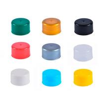 1000 Tampas Coloridas P/ Tubo Tubetes 13 E 8 Cm Super Barata