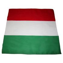 Bandana Bandeira Itália Lenço Copa 2014 Algodão 55cmx55cm