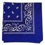 Bandana Lenço Azul Royal - Rock 55cmx55cm