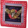 Bandana Lenço Eagle Wild America Usa Moto Águia 54x54cm